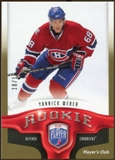 2009/10 Upper Deck Be A Player Player's Club #264 Yannick Weber 10/15