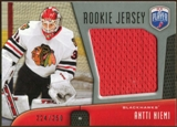 2009/10 Upper Deck Be A Player Rookie Jerseys #RJAN Antti Niemi /250
