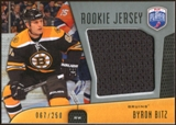 2009/10 Upper Deck Be A Player Rookie Jerseys #RJBB Byron Bitz /250