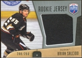 2009/10 Upper Deck Be A Player Rookie Jerseys #RJBS Brian Salcido /250