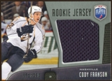 2009/10 Upper Deck Be A Player Rookie Jerseys #RJCF Cody Franson /250