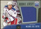 2009/10 Upper Deck Be A Player Rookie Jerseys #RJDE Michael Del Zotto /250