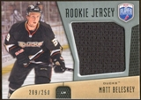 2009/10 Upper Deck Be A Player Rookie Jerseys #RJMB Matt Beleskey /250
