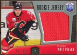 2009/10 Upper Deck Be A Player Rookie Jerseys #RJMP Matt Pelech /250