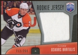 2009/10 Upper Deck Be A Player Rookie Jerseys #RJOB Oskars Bartulis /250