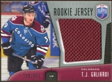 2009/10 Upper Deck Be A Player Rookie Jerseys #RJTG T.J. Galiardi /250