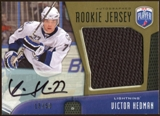 2009/10 Upper Deck Be A Player Rookie Jerseys Autographs #RJVH Victor Hedman Autograph 13/50