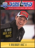 2009/10 Upper Deck Be A Player Sidelines #S9 Drew Doughty