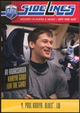 2009/10 Upper Deck Be A Player Sidelines #S41 Paul Kariya