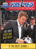 2009/10 Upper Deck Be A Player Sidelines #S42 Paul Stastny