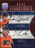 2009/10 Upper Deck Be A Player Signatures Duals #S2BC Daniel Briere/Jeff Carter Autograph