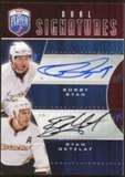 2009/10 Upper Deck Be A Player Signatures Duals #S2GR Ryan Getzlaf/Bobby Ryan Autograph