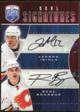 2009/10 Upper Deck Be A Player Signatures Duals #S2IB Rene Bourque/Jarome Iginla Autograph