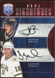 2009/10 Upper Deck Be A Player Signatures Duals #S2NB James Neal/Jamie Benn Autograph