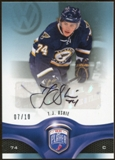 2009/10 Upper Deck Be A Player Signatures Player's Club #133 T.J. Oshie Autograph 7/10