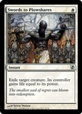 Magic the Gathering Duel Deck Single Swords to Plowshares - NEAR MINT (NM)