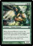 Magic the Gathering Commander 2011 Single Eternal Witness UNPLAYED (NM/MT)