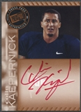 2011 Press Pass #PPSJW Colin Kaepernick Bronze Rookie Red Ink Auto
