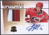 2009/10 The Cup #SPES Eric Staal Signature Patch Auto #45/75