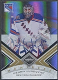 2010/11 Limited #51 Henrik Lundqvist Monikers Gold Auto #50/50