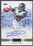 2011 Panini Playbook #40 Sidney Rice Gold Auto #05/25