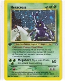 Pokemon Neo Genesis 1st Edition Single Heracross 6/111
