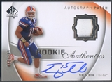 2010 SP Authentic #108 Tim Tebow Rookie Patch Auto #080/299