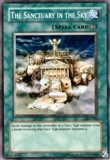 Yu-Gi-Oh Ancient Sanctuary Single The Sanctuary in the Sky Super Rare AST-042