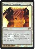 Magic the Gathering Promo Single Swords to Plowshares Foil (Judge) - NEAR MINT (NM)