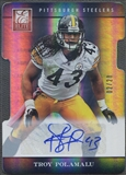2012 Elite #79 Troy Polamalu Aspirations Auto #02/20