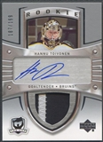 2005/06 The Cup #108 Hannu Toivonen Rookie Patch Auto #187/199