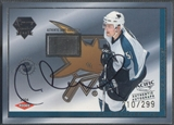 2003/04 Pacific Luxury Suite #98 Milan Michalek Rookie Puck Auto #210/299