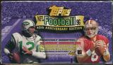 1996 Topps Football Retail 20 Pack Box