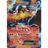 Pokemon Plasma Freeze Single Heatran ex 13/116