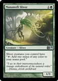 Magic the Gathering 2014 Single Manaweft Sliver Foil