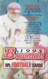 1995 Bowman Football Hobby Box
