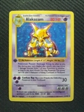 Pokemon Base Set 1 Single 1st Edition Alakazam 1/102 - Shadowless