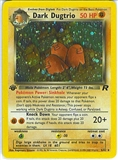 Pokemon Team Rocket 1st Edition Single Dark Dugtrio 6/82