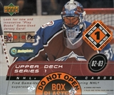 2002/03 Upper Deck Series 1 Hockey 8-Pack Box