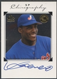 1998 SP Authentic #VG Vladimir Guerrero Chirography Auto