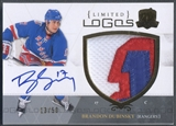 2010/11 The Cup #LLBD Brandon Dubinsky Limited Logos Patch Auto #13/50