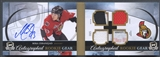 2011/12 The Cup #ARGMZ Mika Zibanejad Rookie Gear Jersey Patch Fight Strap Laundry Tag Auto #17/25