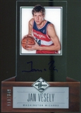 2012/13 Panini Limited #194 Jan Vesely Autograph 111/349