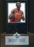 2012/13 Panini Limited #207 Marquis Teague Autograph 66/349