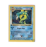 Pokemon Base Set 1 Single 1st Edition Gyarados 6/102 - Shadowless