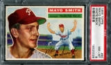 1956 Topps Baseball #60 Mayo Smith PSA 8 (NM-MT) *0026