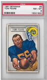 1951 Bowman Football Tom Fears PSA 8 (NM-MT) *1600