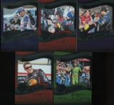 2013 Press Pass Fanfare Racing National Convention 5 Card Exclusive VIP Set
