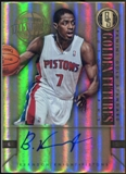 2011/12 Panini Gold Standard 2011 Draft Pick Redemptions Autographs #XRCH Brandon Knight Autograph