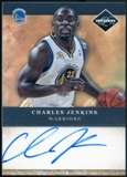 2011/12 Panini Limited 2011 Draft Pick Redemptions Autographs #XRCV Charles Jenkins Autograph